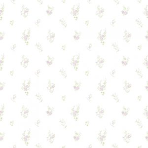 Papel Floral Lilas