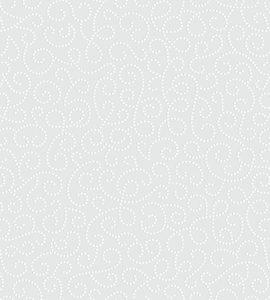 Arabesco Floral cinza