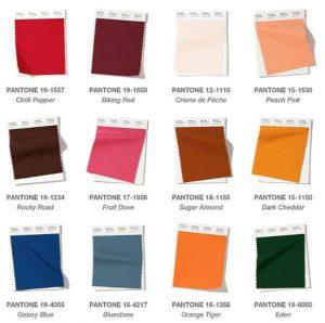 Pantone - tendência de cores / papel de parede
