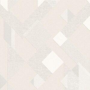 Papel de Parede geométrico cinza 3808