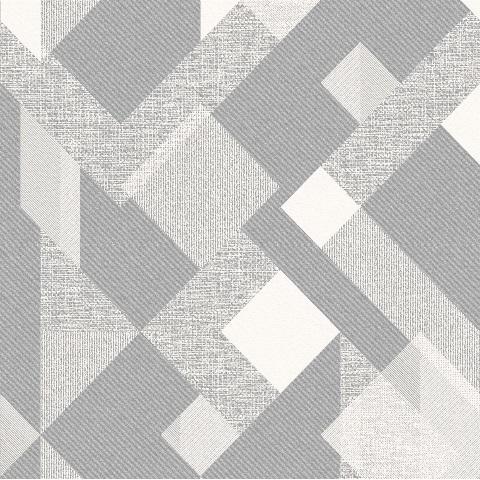 Papel-de-Parede geométrico cinza 3809
