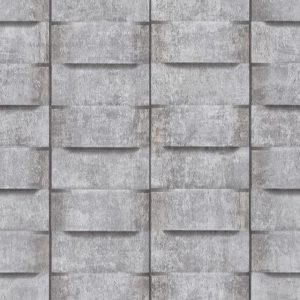 Papel de parede estilo muro cinza claro 6368-15