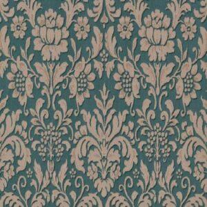 Papel de parede arabesco arabesco verde 6378-07