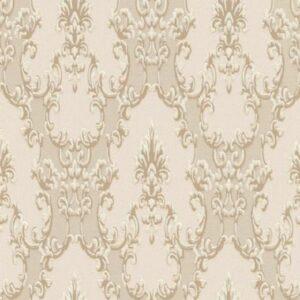 Papel de parede arabesco bege 6376-14
