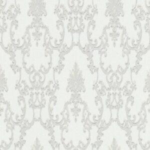 Papel de parede arabesco branco 6376-01