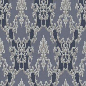 Papel de parede arabesco cinza 6376-08