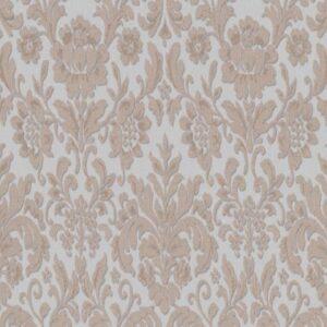 Papel de parede arabesco marrom claro com azul 6378-31
