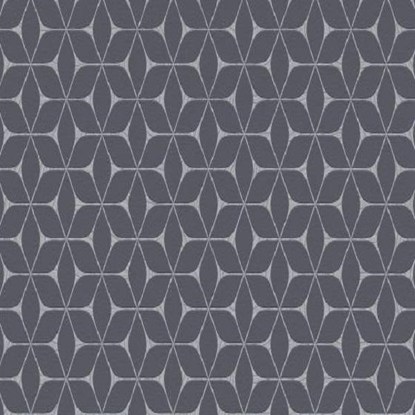 Papel de parede cubo preto 10025-15