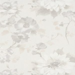 Papel de parede florido bege 10051-14