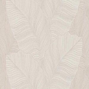 Papel de parede folha palmeira bege 10021-02