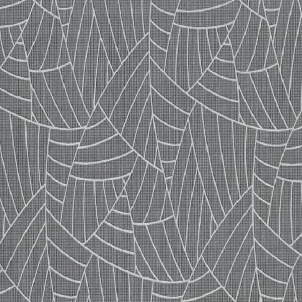 Papel de parede folha palmeira cinza escuro 5427-15