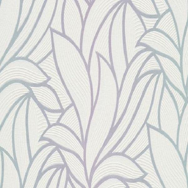 Papel de parede folhado cinza com branco 10023-05