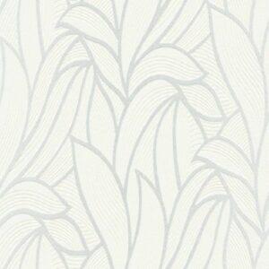 Papel de parede folhado off-white 10023-01