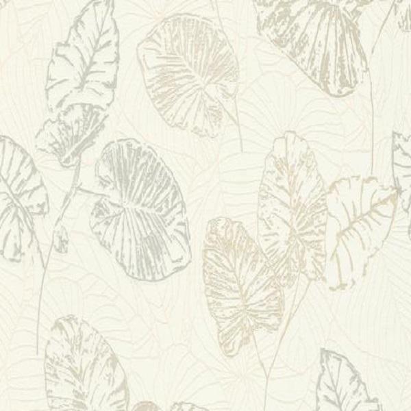 Papel de parede folhas bege 5426-02