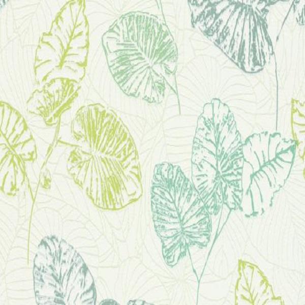 Papel de parede folhas coloridas 5426-07