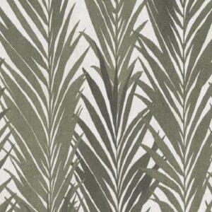 Papel de parede folhas palmadas Verde escuro 10031-07