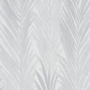 Papel de parede folhas palmadas cinza 10031-10