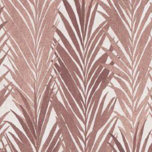 Papel de parede folhas palmadas vermelho 10031-11
