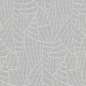 Papel de parede folhas palmeira cinza 5427-10