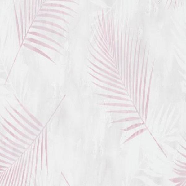 Papel de parede folhas palmeira rosa 02579-05