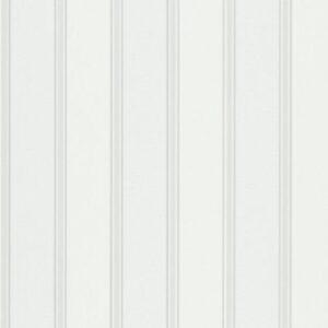 Papel de parede listrado branco 6377-01