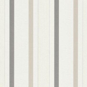 Papel de parede listrado marrom 5429-02