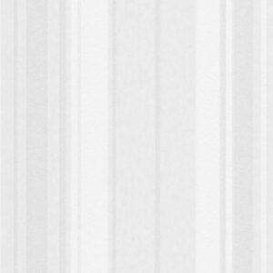 Papel de parede listrado tons bracno cinza 4028-01