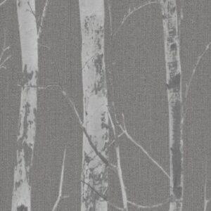 Papel de parede troncos cinza escuro 5433-10