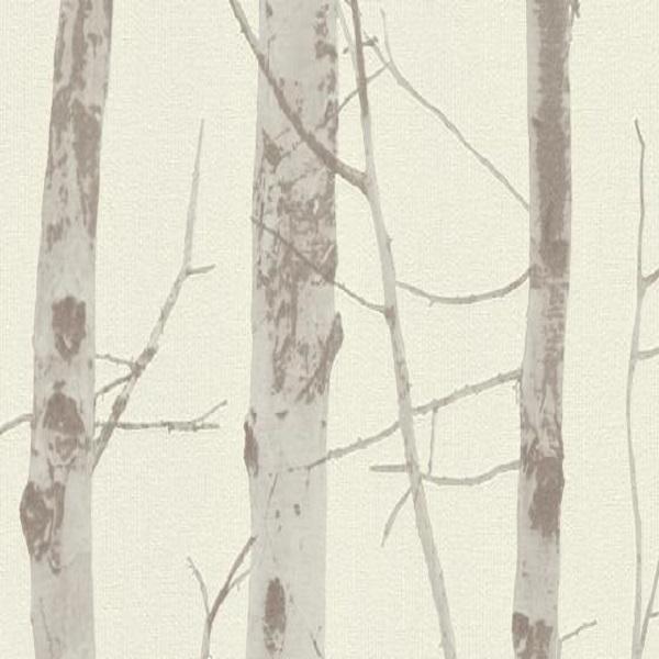 Papel de parede troncos off-white 5433-38